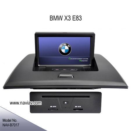 bmw x3 e83 factory oem in dash radio auto dvd player gps. Black Bedroom Furniture Sets. Home Design Ideas
