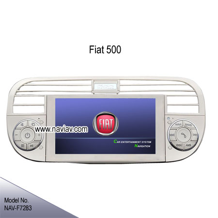 fiat 500 factory oem in dash radio rds car dvd player. Black Bedroom Furniture Sets. Home Design Ideas