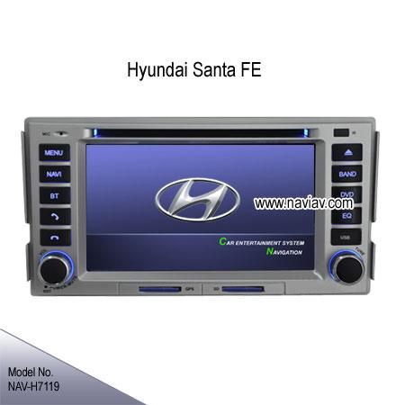 hyundai santa fe factory oem in dash radio car dvd player. Black Bedroom Furniture Sets. Home Design Ideas