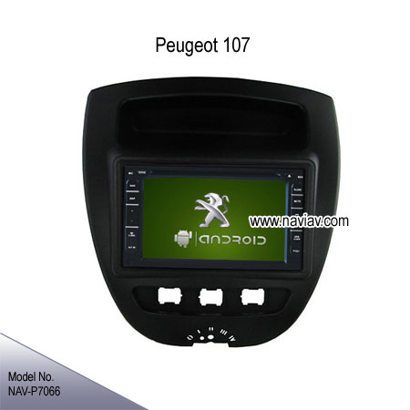 peugeot 107 oem stereo radio car dvd player tv gps android