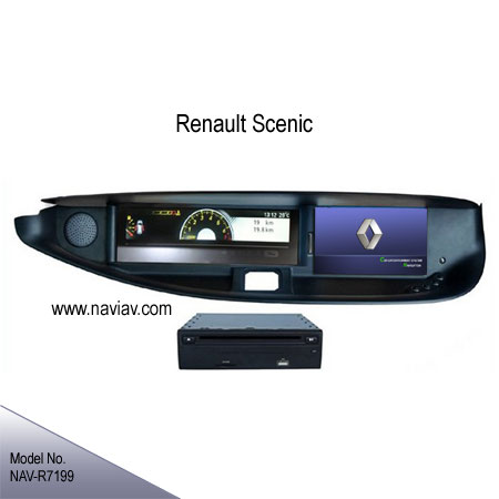 renault scenic in dash stereo radio car dvd player bluetooth gps navi tv ipod nav r7199 car dvd. Black Bedroom Furniture Sets. Home Design Ideas