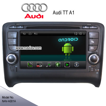 audi tt a1 stereo radio car dvd player gps android 4 2 tv. Black Bedroom Furniture Sets. Home Design Ideas
