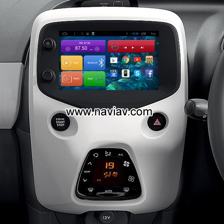 peugeot 108 android 3g wifi obd tpms car pc radio gps navigation mirror link car dvd player gps. Black Bedroom Furniture Sets. Home Design Ideas