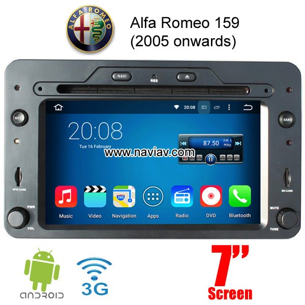 car dvd gps alfa series car dvd player gps navigation. Black Bedroom Furniture Sets. Home Design Ideas