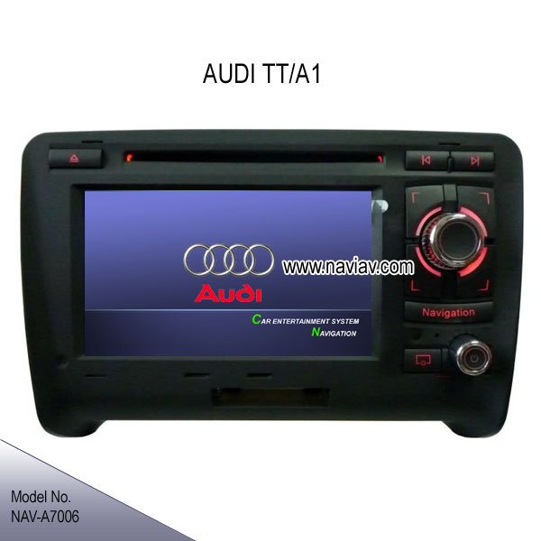 audi tt a1 factory oem special in dash radio car dvd player gps navigation bluetooth rds ipod. Black Bedroom Furniture Sets. Home Design Ideas