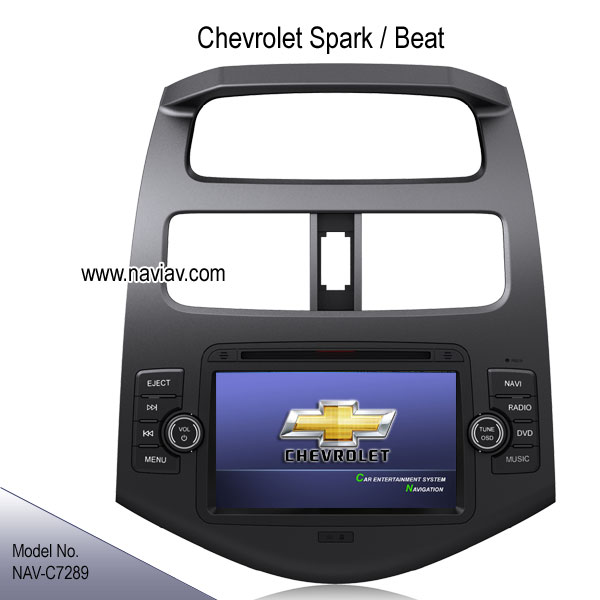 chevy chevrolet spark beat oem stereo auto dvd player gps. Black Bedroom Furniture Sets. Home Design Ideas
