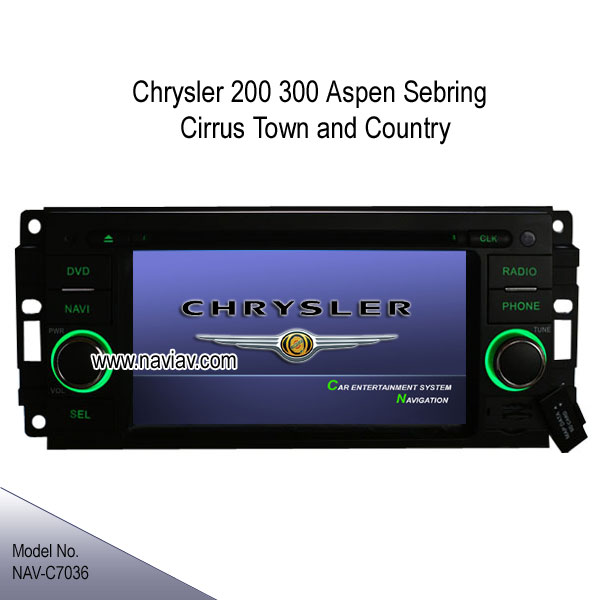 chrysler 200 300 aspen sebring town country oem radio dvd gps tv rh naviav com
