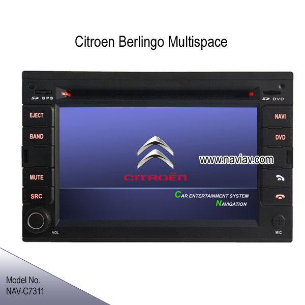 citroen berlingo multispace oem stereo radio car dvd player tv gps ipod navi nav c7311 car dvd. Black Bedroom Furniture Sets. Home Design Ideas