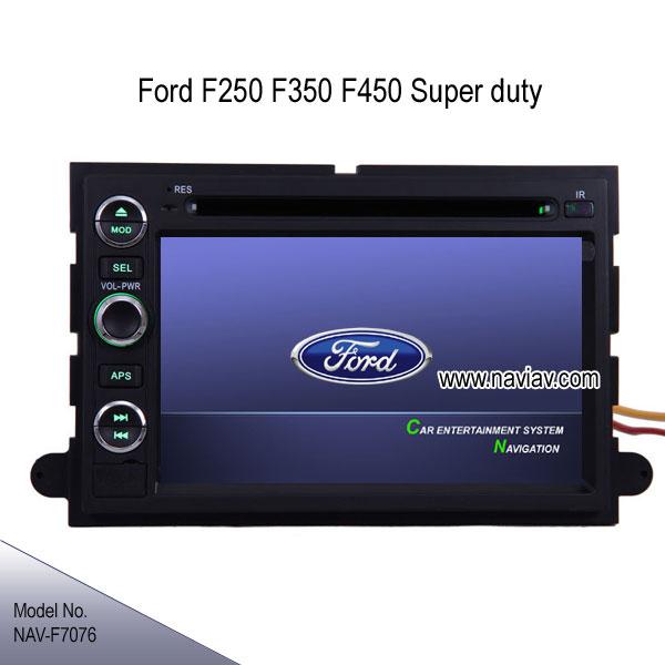 Ford F250 F350 F450 F550 Super duty stereo radio DVD GPS ...