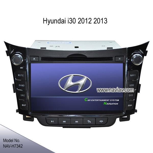 hyundai i30 2012 2013 stereo radio car dvd player tv gps. Black Bedroom Furniture Sets. Home Design Ideas