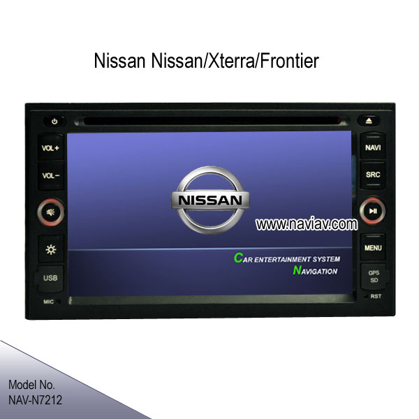 Nissan Xterra Frontier In Dash Stereo Radio Dvd Player Tv