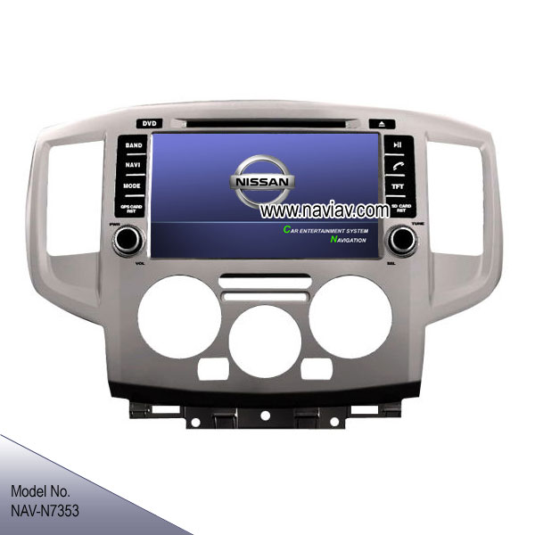 nissan nv200 2012 2014 oem radio stereo car dvd player gps. Black Bedroom Furniture Sets. Home Design Ideas