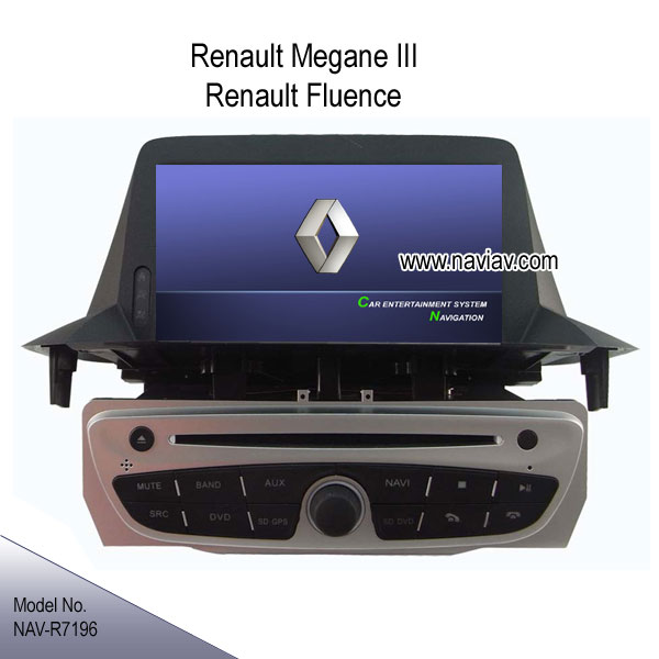 Renault megane iii renault fluence in dash stereo radio car dvd player tv gps ipod nav r7196_car