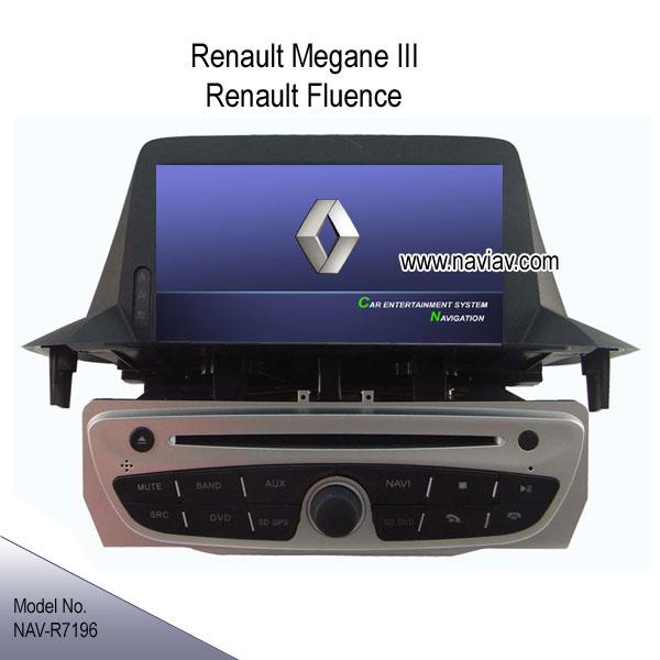renault megane iii renault fluence in dash stereo radio car dvd player tv gps ipod nav r7196 car. Black Bedroom Furniture Sets. Home Design Ideas