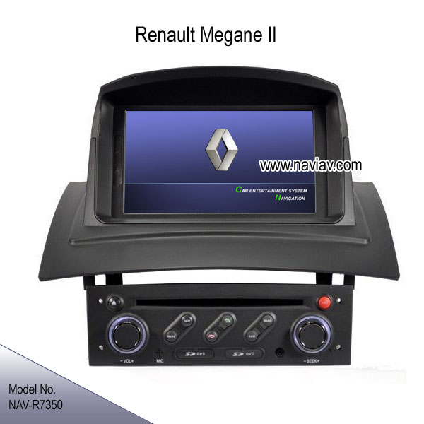 renault megane ii oem stereo radio dvd player gps navigation ipod tv bluetooth nav r7350 car dvd. Black Bedroom Furniture Sets. Home Design Ideas