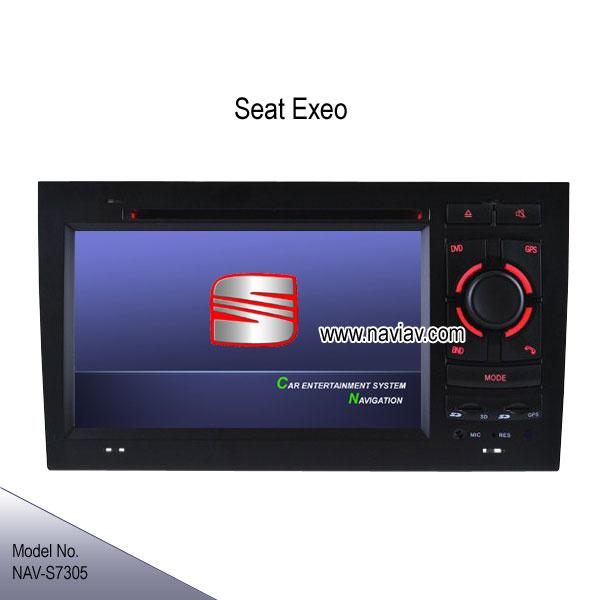 seat exeo oem stereo car dvd player gps navigation tv ipod. Black Bedroom Furniture Sets. Home Design Ideas