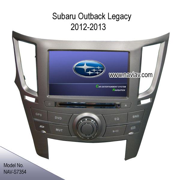 subaru outback legacy 2012 2013 radio car dvd ipod gps. Black Bedroom Furniture Sets. Home Design Ideas