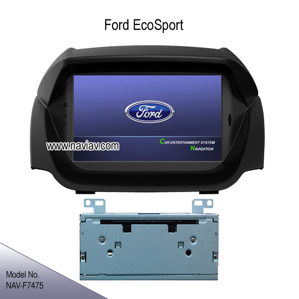 ford ecosport radio car dvd player gps navi bluetooth ipod. Black Bedroom Furniture Sets. Home Design Ideas
