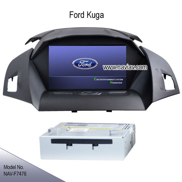 ford kuga escape 2013 radio car dvd player gps navi bluetooth ipod tv nav f7476 car dvd player. Black Bedroom Furniture Sets. Home Design Ideas