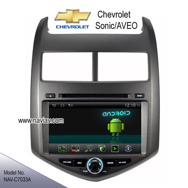 Android 4 2 Chevrolet Sonic Aveo Stereo Radio Car Dvd