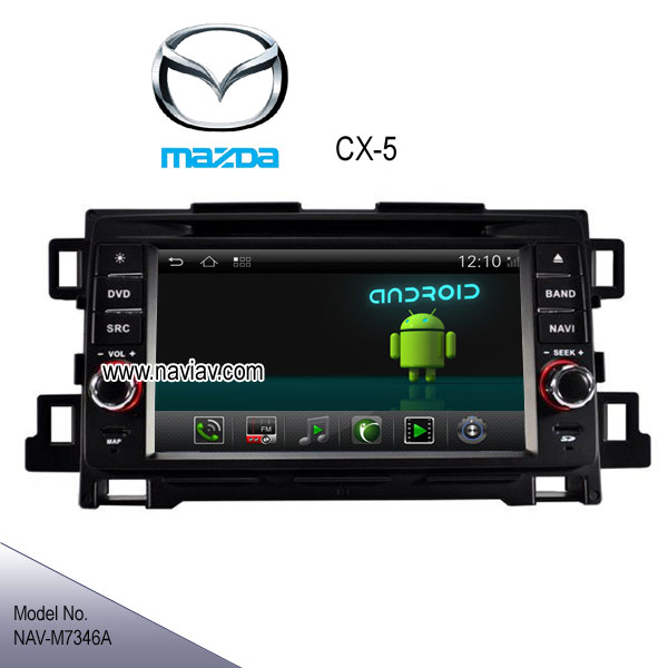 Mazda Cx 5 Android Auto >> Android 4.2 Mazda CX-5 stereo radio Car DVD Player GPS TV bluetooth internet NAV-M7346A_Car dvd ...