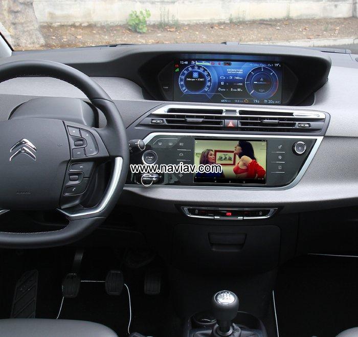 citroen c4 picasso android 3g wifi obd tpms car radio pc gps navigation mirror link car dvd. Black Bedroom Furniture Sets. Home Design Ideas