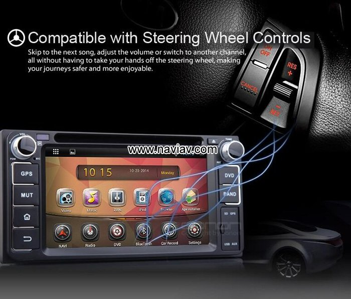 Krando Android 7 1 Car Radio Dvd Multimedia For Volvo S60: Features
